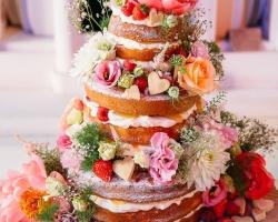 صورة كيك حفل زواج