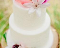 صورة كيك حفلات الزفاف