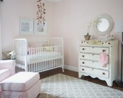 غرفة نوم طفلة