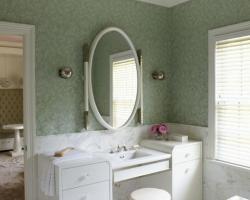 ديكور حمام تقليدي تم تحويله لحمام عصري
