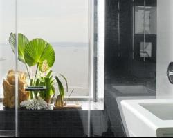 ديكور حمامات اسود