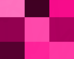 صورة لون درجات البينك