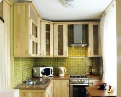 استغلال المساحات الصغيرة في المطبخ