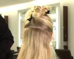 طريقة عمل لفائف الشعر فى المنزل