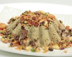طريقة عمل الأرز بكبد الدجاج واللوز