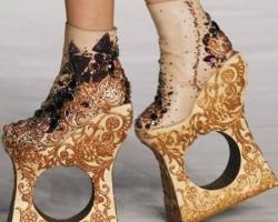 أغرب تصميمات أحذية حريمى 2016