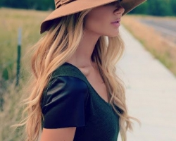 قبعات حريمى لصيف 2016