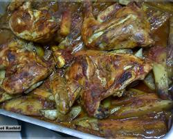 طريقة عمل صينية الدجاج بالخضار