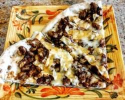 طريقة عمل بيتزا الباف باستري بالدجاج