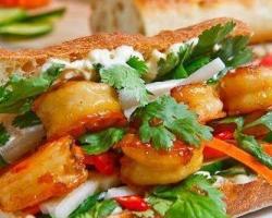 ساندويتش كانتون الجمبري على الطريقة الصينية
