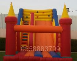 تأجير زحاليق مائية -نطيطات -ملعب صابوني 0550003696 ألعاب للمرح