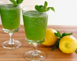 عصير الليمون والنعناع للتخسيس