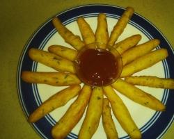 أصابع البطاطس المقرمشه اللذيذة
